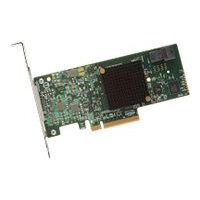 LSI MegaRAID SAS 9341-4i - Storage controller (RAID) - 4 Channel - SATA 6Gb/s / SAS 12Gb/s low profile - 1.2 GBps - RAID 0, 1, 5, 10, 50, JBOD - PCIe 3.0 x8