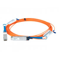 Mellanox LinkX 100Gb/s VCSEL-Based Active Optical Cables - InfiniBand cable - QSFP to QSFP - 10 m - fibre optic - SFF-8665/IEEE 802.3bm - active, halogen-free