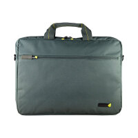 "techair - Notebook carrying shoulder bag -  Laptop Bag 17.3"" - grey"