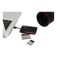 PNY High Performance Reader 3.0 - Card reader (Multi-Format) - USB 3.0