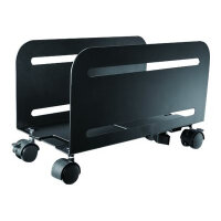 NewStar Trolley PC Mount (Suitable PC Dimensions -  Width: 12-21 cm) - Black - Cart for CPU - black