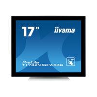 "Iiyama ProLite T1732MSC-W5AG - LED Computer Monitor - 17"" - touchscreen - 1280 x 1024 - TN - 250 cd/m² - 1000:1 - 5 ms - HDMI, VGA, DisplayPort - speakers - matt white"