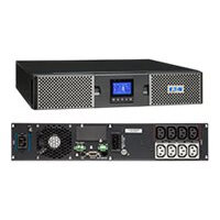 Eaton 9PX 1500i RT2U - UPS (rack-mountable / external) - AC 200/208/220/230/240 V - 1500 Watt - 1500 VA - RS-232, USB - output connectors: 8 - PFC - 2U