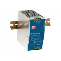 D-Link DIS N240-48 - Power supply (DIN rail mountable) - 240 Watt - for DIS 100G-5PSW
