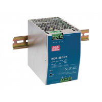 D-Link DIS N480-48 - Power supply (DIN rail mountable) - 480 Watt - for DIS 100G-5PSW