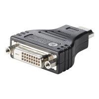 HP HDMI to DVI Adapter - Video adapter - HDMI / DVI - DVI-D (F) to HDMI (M) - for HP 20, 22, 245 G6, 25X G6; Chromebox G2; EliteBook 1040 G4; Stream Pro 11 G4