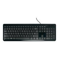 Targus Slim Internet Multimedia USB Keyboard - Keyboard - USB - UK layout - black