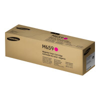 Samsung CLT-M659S - Magenta - original - toner cartridge (SU359A) - for MultiXpress CLX-8640, CLX-8641, CLX-8642, CLX-8650, CLX-8651, CLX-8652; ProXpress SL-C4821