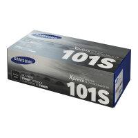 Samsung MLT-D101S - Black - original - toner cartridge (SU696A) - for Samsung ML-2160, 2161, 2162, SCX-3400, 3401, 3405, 3406, SF-760, 761, 765