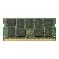 HP - DDR4 - 16 GB - SO-DIMM 260-pin - 2400 MHz / PC4-19200 - 1.2 V - unbuffered - ECC - for ZBook 15 G3, 15 G4, 17 G3, 17 G4, Studio G3, Studio G4