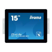 "Iiyama ProLite TF1515MC-B1 - 15"" Class LED display - digital signage - with touchscreen 1024 x 768 - edge-lit - black"
