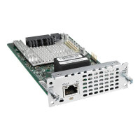 Cisco Fourth-Generation Multi-flex Trunk Voice/Clear-channel Data T1/E1 Module - Expansion module - T-1/E-1 - for Cisco 4451-X