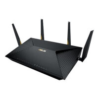 ASUS BRT-AC828 - Wireless router - 8-port switch - GigE - WAN ports: 2 - 802.11a/b/g/n/ac - Dual Band