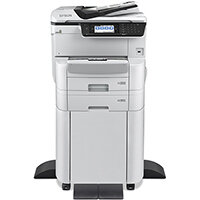 Epson WorkForce Pro WF-C8690DTWFC - Multifunction printer - colour - ink-jet - A3 (media) - up to 22 ppm (copying) - up to 35 ppm (printing) - 835 sheets - 33.6 Kbps - Gigabit LAN, USB host, NFC, USB 3.0, USB 2.0 host, Wi-Fi(ac)
