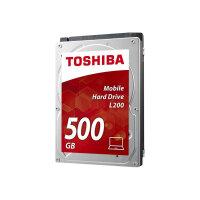 """Toshiba L200 Laptop PC - Hard drive - 500 GB - internal - 2.5"""" - SATA 3Gb/s - 5400 rpm - buffer: 8 MB"""