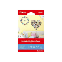 Canon Restickable Photo Paper RP-101 - Matte - removable adhesive - 10.6 mil - 100 x 150 mm - 260 g/m² - 69 lbs - 5 sheet(s) photo stickers
