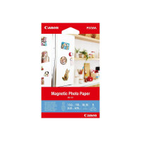 Canon Magnetic Photo Paper MG-101 - Glossy - 13 mil - 100 x 150 mm - 670 g/m² - 178 lbs - 5 sheet(s) magnetic photo paper