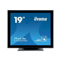 "iiyama ProLite T1932MSC-B5X - LED monitor - 19"" - touchscreen - 1280 x 1024 - IPS - 250 cd/m² - 1000:1 - 14 ms - HDMI, VGA, DisplayPort - speakers - black"