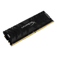 HyperX Predator - DDR4 - 16 GB: 2 x 8 GB - DIMM 288-pin - 3600 MHz / PC4-28800 - CL17 - 1.35 V - unbuffered - non-ECC - black