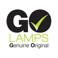 GO Lamps - Projector lamp (equivalent to: Hitachi DT00911) - for Hitachi ED-X31, ED-X32, ED-X33; CP-WX410, X201, X206, X301, X306, X306W, X401, X450, X467