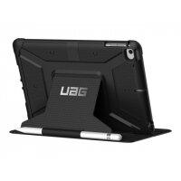 UAG Rugged Case for iPad Mini (2019) & iPad Mini 4 - Metropolis Black - Flip cover for tablet - composite - for Apple iPad mini 4; 5