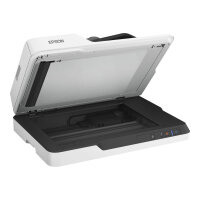 Epson WorkForce DS-1630 - Document scanner - Duplex - A4/Legal - 1200 dpi x 1200 dpi - up to 25 ppm (mono) / up to 25 ppm (colour) - ADF (50 sheets) - up to 1500 scans per day - USB 3.0