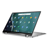 "ASUS Chromebook Flip C434TA AI0041 - Flip design - Core i5 8200Y / 1.3 GHz - Chrome OS - 8 GB RAM - 128 GB eMMC - 14"" touchscreen 1920 x 1080 (Full HD) - UHD Graphics 615 - 802.11ac - spangle silver"