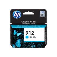 HP 912 - 2.93 ml - cyan - original - ink cartridge - for Officejet 8012, 8013, 8014, 8015; Officejet Pro 8020, 8022, 8024, 8025, 8035