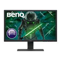"BenQ GL2480E - LED monitor - 24"" - 1920 x 1080 Full HD (1080p) - TN - 250 cd/m² - 1000:1 - 1 ms - HDMI, DVI, VGA - black"