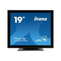 "iiyama ProLite T1932MSC-B5AG - LED monitor - 19"" - touchscreen - 1280 x 1024 - IPS - 250 cd/m² - 1000:1 - 14 ms - HDMI, VGA, DisplayPort - speakers - black"