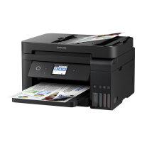 Epson EcoTank ET-4750 Unlimited - Multifunction printer - colour - ink-jet - A4/Legal (media) - up to 33 ppm (printing) - 250 sheets - 33.6 Kbps - USB, LAN, Wi-Fi