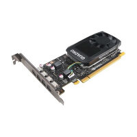 NVIDIA Quadro P1000 - Graphics card - Quadro P1000 - 4 GB GDDR5 - PCIe 3.0 x16 - 4 x Mini DisplayPort - for ThinkStation P320; P330; P330 (2nd Gen); P410; P510; P520; P520c; P710; P720; P910; P920