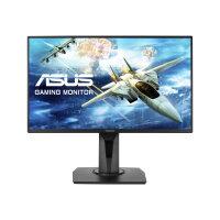 "ASUS VG258QR - LED monitor - 24.5"" - 1920 x 1080 Full HD (1080p) - TN - 400 cd/m² - 1000:1 - 0.5 ms - HDMI, DVI-D, DisplayPort - speakers - black"