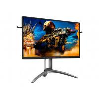 "AOC AGON AG273QZ - LED monitor - 27"" - 2560 x 1440 WQHD @ 240 Hz - TN - 400 cd/m² - 3000:1 - 0.5 ms - HDMI, VGA, DisplayPort - speakers - black, red"