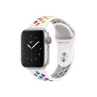 Apple 40mm Nike Sport Band - Pride Edition - strap for smart watch - S/M & M/L size - pride - for Watch (38 mm, 40 mm)