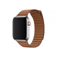 Apple 44mm Leather Loop - Strap for smart watch - Large size - saddle brown - for Watch (42 mm, 44 mm)