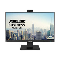 "ASUS BE24EQK - LED monitor - 23.8"" - 1920 x 1080 Full HD (1080p) - IPS - 300 cd/m² - 1000:1 - 5 ms - HDMI, VGA, DisplayPort - speakers - black"