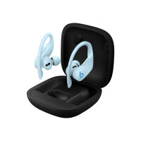 Beats Powerbeats Pro - True wireless earphones with mic - in-ear - over-the-ear mount - Bluetooth - noise isolating - glacier blue - for iPad/iPhone/iPod/TV/Watch