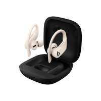 Beats Powerbeats Pro - True wireless earphones with mic - in-ear - over-the-ear mount - Bluetooth - noise isolating - ivory - for iPad/iPhone/iPod