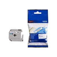 Brother MK223BZ - Blue on white - Roll (0.9 cm x 8 m) 1 roll(s) non-laminated tape - for P-Touch PT-55, PT-65, PT-75, PT-85, PT-90, PT-BB4