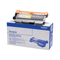 Brother TN2010 - Black - original - toner cartridge - for Brother DCP-7055, DCP-7055W, DCP-7057, DCP-7057E, HL-2130, HL-2132, HL-2135W