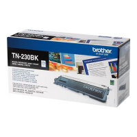 Brother TN230BK - Black - original - toner cartridge - for Brother DCP-9010CN, HL-3040CN, HL-3040CW, HL-3070CW, MFC-9120CN, MFC-9320CN, MFC-9320CW
