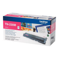 Brother TN230M - Magenta - original - toner cartridge - for Brother DCP-9010CN, HL-3040CN, HL-3040CW, HL-3070CW, MFC-9120CN, MFC-9320CN, MFC-9320CW