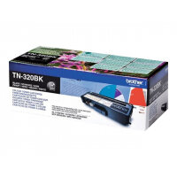 Brother TN320BK - Black - original - toner cartridge - for Brother DCP-9055, DCP-9270, HL-4140, HL-4150, HL-4570, MFC-9460, MFC-9465, MFC-9970