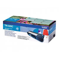 Brother TN320C - Cyan - original - toner cartridge - for Brother DCP-9055, DCP-9270, HL-4140, HL-4150, HL-4570, MFC-9460, MFC-9465, MFC-9970