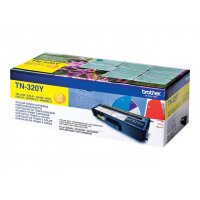 Brother TN320Y - Yellow - original - toner cartridge - for Brother DCP-9055, DCP-9270, HL-4140, HL-4150, HL-4570, MFC-9460, MFC-9465, MFC-9970
