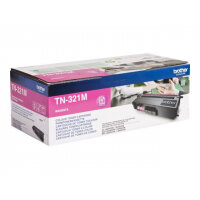 Brother TN321M - Magenta - original - toner cartridge - for Brother DCP-L8400, DCP-L8450, HL-L8250, HL-L8350, MFC-L8650, MFC-L8850