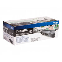 Brother TN326BK - Black - original - toner cartridge - for Brother DCP-L8400, DCP-L8450, HL-L8250, HL-L8350, MFC-L8650, MFC-L8850