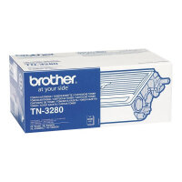 Brother TN3280 - Black - original - toner cartridge - for Brother DCP-8070, 8085, HL-5340, 5350, 5370, 5380, MFC-8370, 8380, 8880, 8890