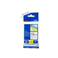 Brother TZe-241 - Standard adhesive - black on white - Roll (1.8 cm x 8 m) 1 roll(s) laminated tape - for Brother PT-D600; P-Touch PT-1880, D450, E550, E800, P900, P950; P-Touch Cube Plus PT-P710